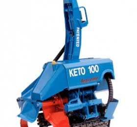 Keto-100 Supreme harvester head