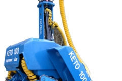 Keto-100 Eco Supreme harvester head