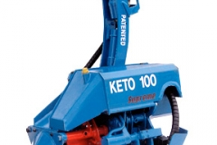 Keto-100 Supreme harvester head