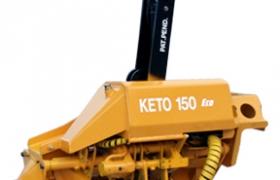 Keto-150 HD Eco harvester head