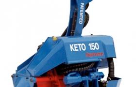 Keto-150 Supreme harvester head